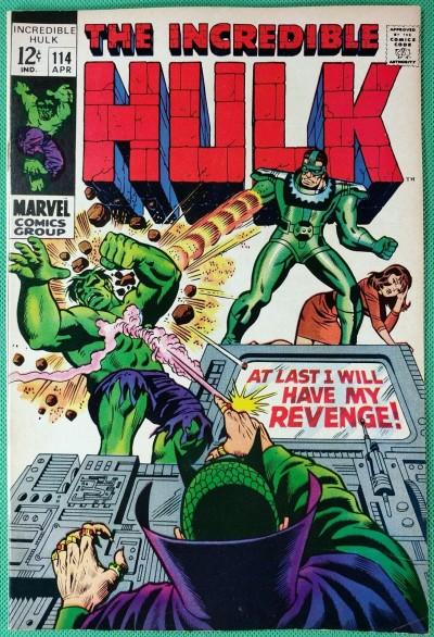 Incredible Hulk (1968) #114 VF- (7.5) vs Mandarin & Sandman