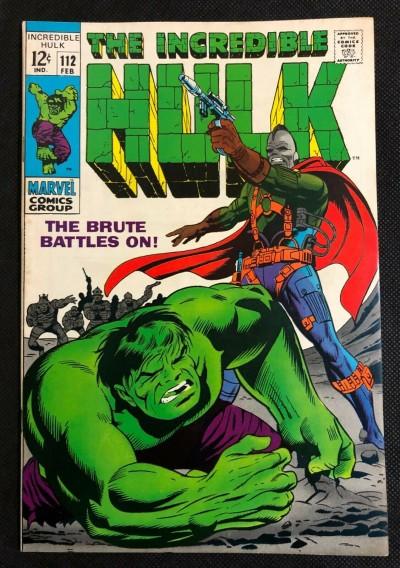 Incredible Hulk (1968) #112 VF- (7.5) Herb Trimpe