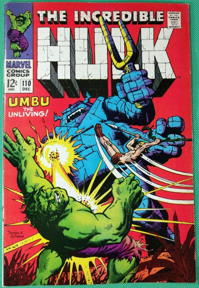 Incredible Hulk (1968) #110 VF- (7.5) Ka-Zar app