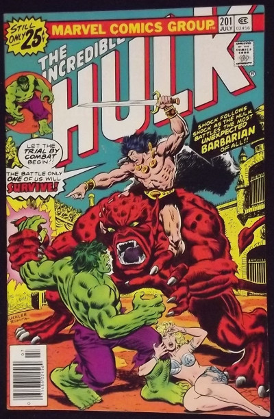 INCREDIBLE HULK #200 VF- KRONAK THE BARBARIAN