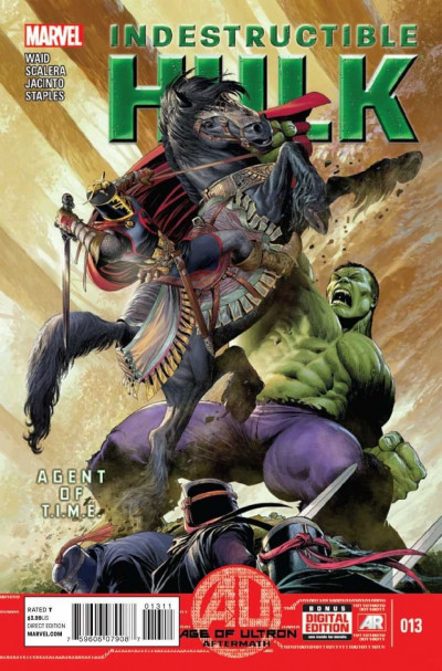 INDESTRUCTIBLE HULK (2012) #13 VF+ MARVEL NOW!