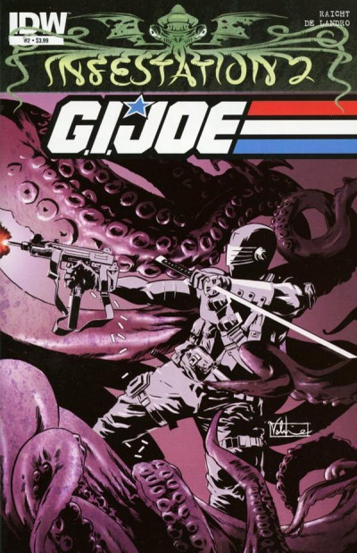 INFESTATION 2: G.I. JOE #2 NM