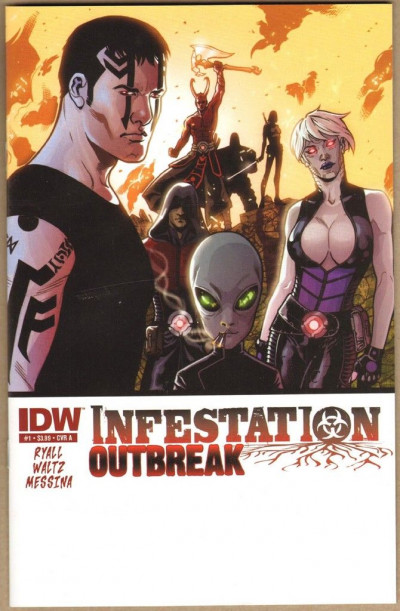 INFESTATION: OUTBREAK #1 NM COVER A IDW ZOMBIES CVO