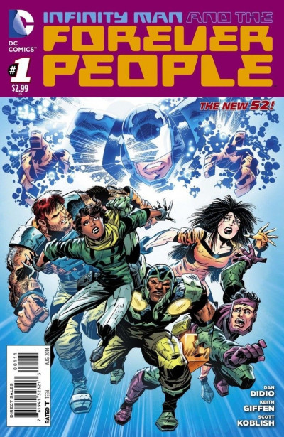 INFINITY MAN AND THE FOREVER PEOPLE (2014) #1 VF/NM THE NEW 52!