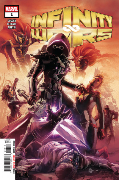 Infinity Wars (2018) #1 VF/NM (9.0) or better Mike Deodato Jr Cover