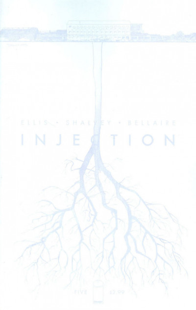 INJECTION (2015) #5 VF/NM COVER B IMAGE COMICS