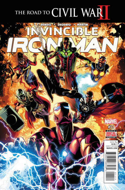 Invincible Iron Man (2015) #11 VF/NM Civil War II Tie-In