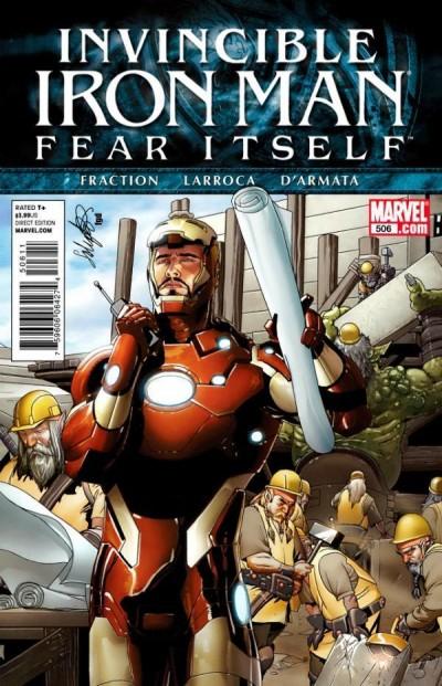 Invincible Iron Man (2008) #506 VF/NM Fear Itself