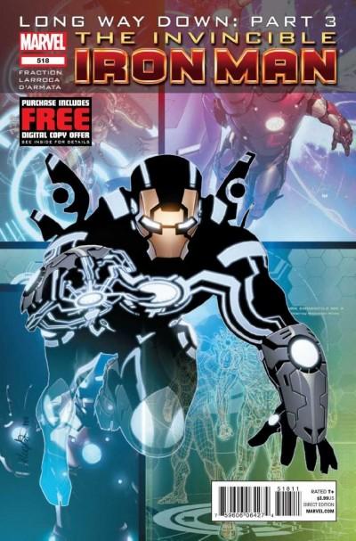 Invincible Iron Man (2008) #518 VF/NM Long Way Down: Part 3