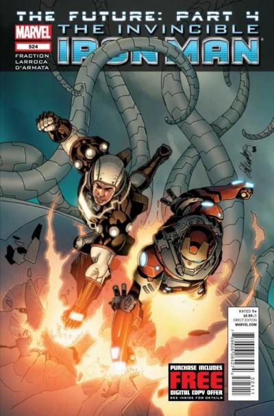 Invincible Iron Man (2008) #524 VF/NM The Future: Part 4