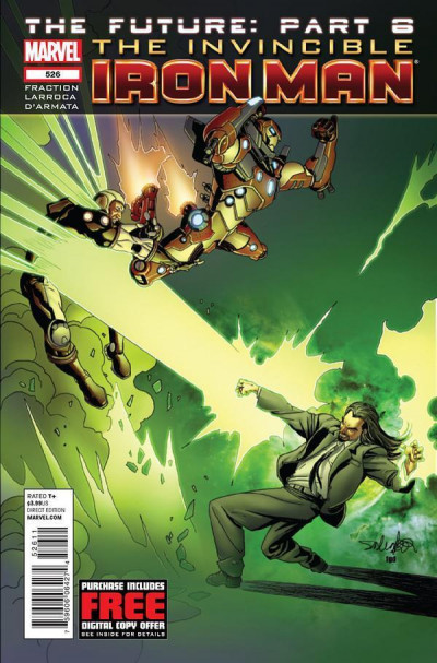 Invincible Iron Man (2008) #526 VF/NM The Future Part 6