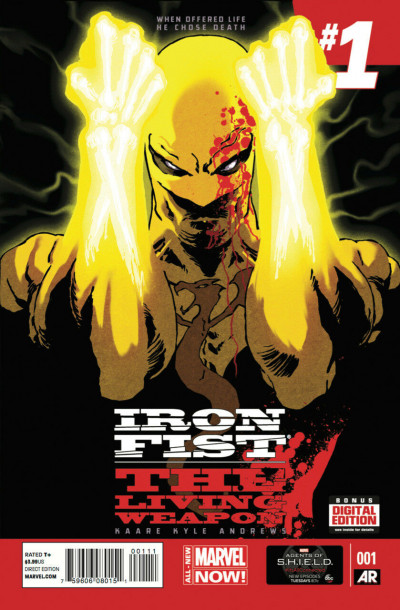 "Iron Fist: The Living Weapon (2014) #'s 1 2 3 4 5 6 7 Complete ""Rage"" VF/NM Set"