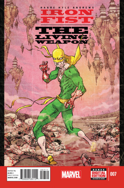 IRON FIST: THE LIVING WEAPON (2014) #7 VF/NM KAARE ANDREWS