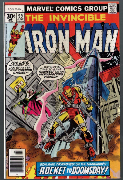Iron Man (1968) #99 FN+ (6.5) Mandarin Sunfire