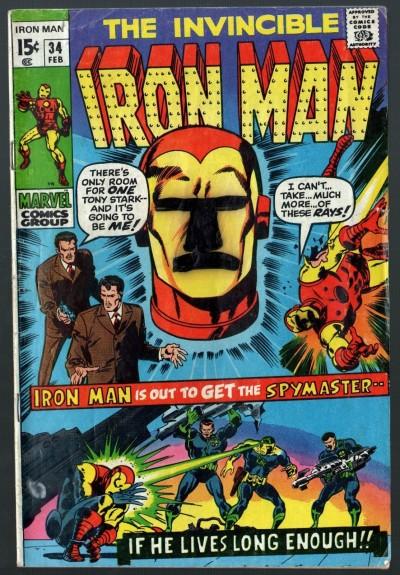 Iron Man (1968) #34 VG+ (4.5)