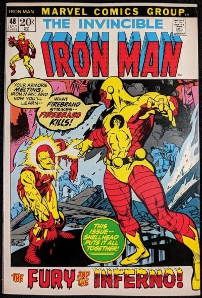 Iron Man (1968) #48 VF+ (8.5)  vs Firebrand