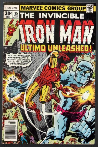 Iron Man (1968) #95 FN (6.0) vs Ultimo