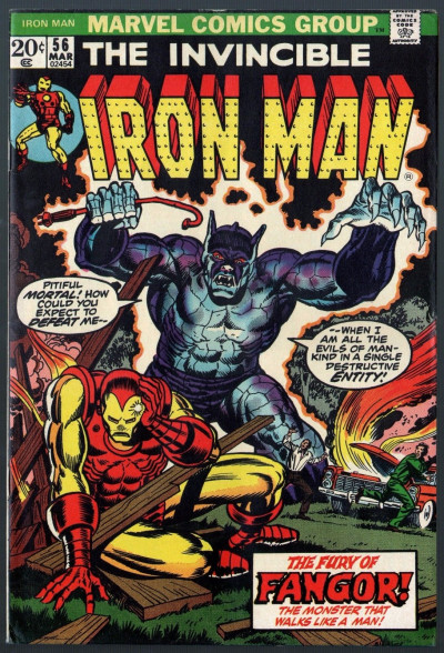 Iron Man (1968) #56 FN (6.0) Jim Starlin art