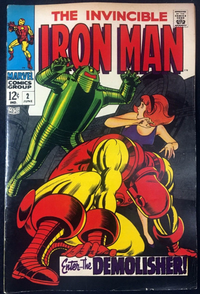 Iron Man (1968) #2 VF- (7.5)