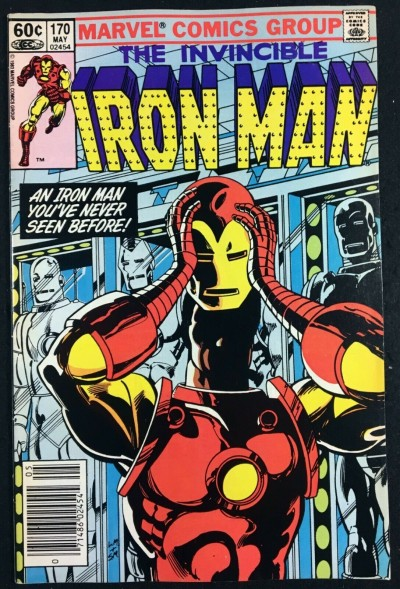 Iron Man (1968) #170 VF+ (8.5) Jim Rhodes replaces Tony Stark as Iron Man