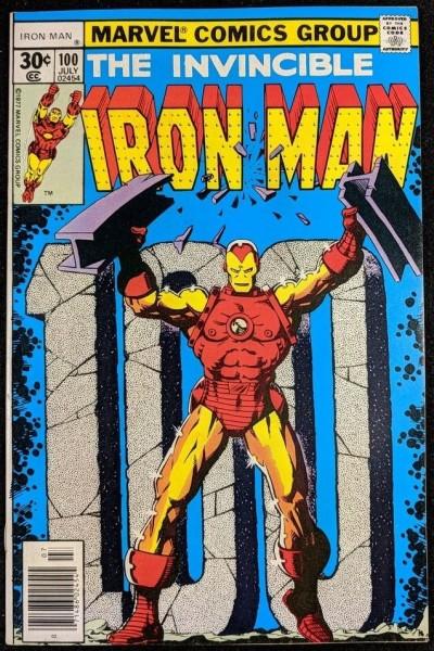 Iron Man (1968) #100 VF+ (8.5)  Jim Starlin cover