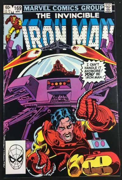 Iron Man (1968) #169 VF+ (8.5) Jim Rhodes replaces Tony Stark as Iron Man