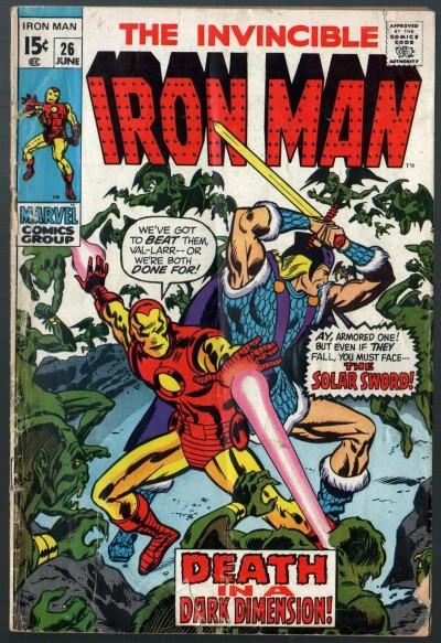 Iron Man (1968) #26 VG (4.0) Solar Sword