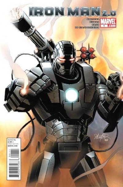 IRON MAN 2.0 #1 NM 1ST PRINT WAR MACHINE LARROCA COVER