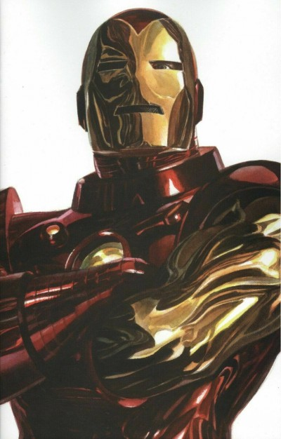 Iron Man (2020) #1 VF/NM-NM Alex Ross Iron Man Timeless Variant Cover