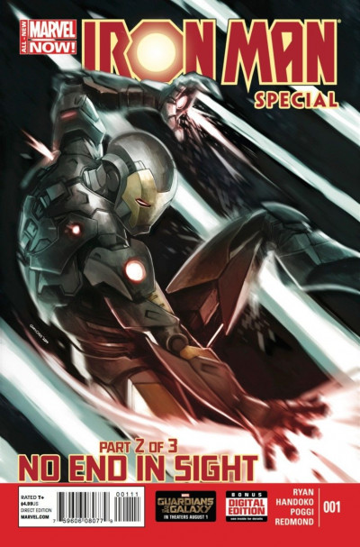 IRON MAN SPECIAL (2014) #1 VF/NM NO END IN SIGHT PART 2 OF 3 MARVEL NOW!