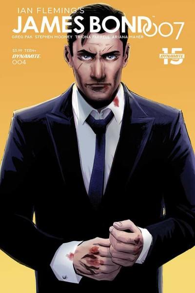 James Bond 007 (2018) #4 VF/NM Ibrahim Moustafa Cover C Dynamite