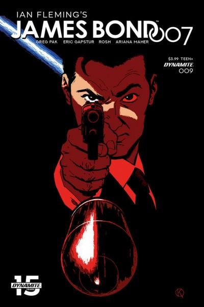 James Bond 007 (2018) #9 VF/NM Kano Cover C Dynamite