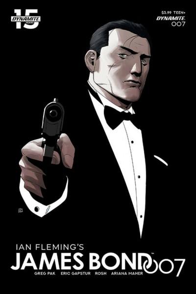 James Bond 007 (2018) #7 VF/NM Khoi Pham Cover B Dynamite