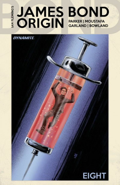 James Bond: Origin (2018) #8 VF/NM Ibrahim Moustafa Cover D Dynamite