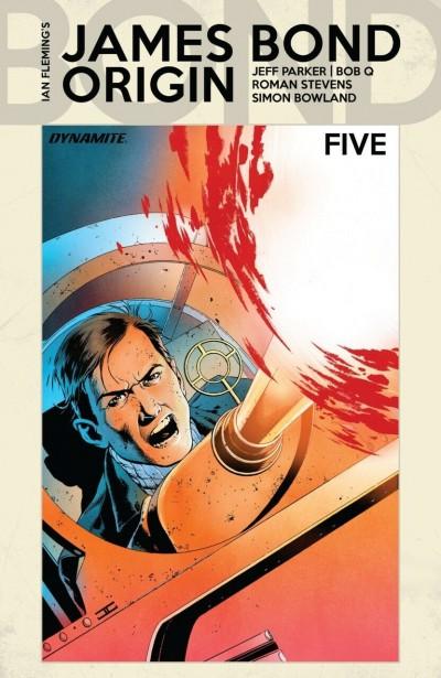 James Bond: Origin (2018) #5 VF/NM John Cassaday Cover A Dynamite