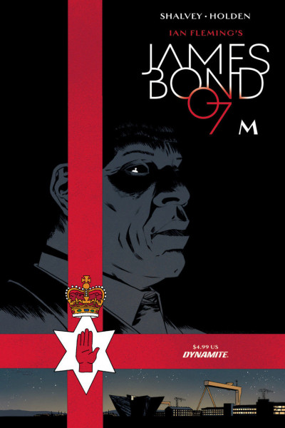 James Bond: M (2018) #1 VF/NM Dynamite