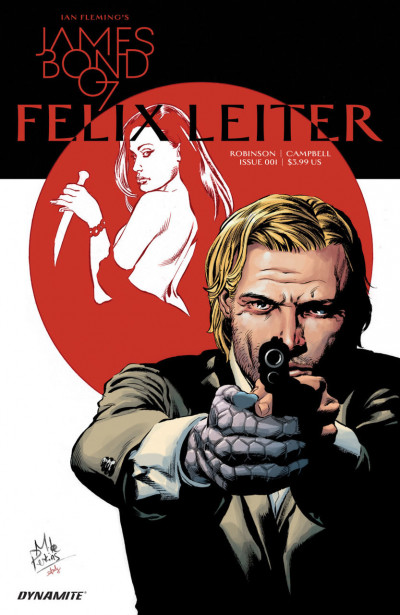 James Bond: Felix Leiter (2016) #1 VF/NM Dynamite