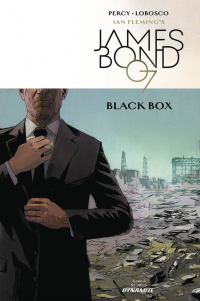 James Bond: Black Box (2017) #5 VF/NM Percy Dynamite