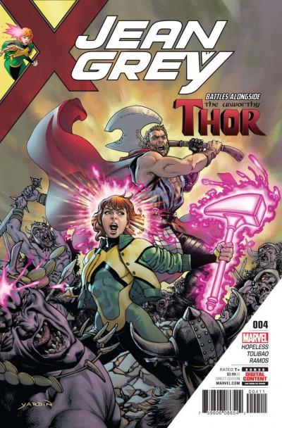 Jean Grey (2017) #4 VF/NM Unworthy Thor Cameo