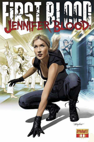 JENNIFER BLOOD: FIRST BLOOD #1 VF/NM DYNAMITE MIKE MAYHEW COVER