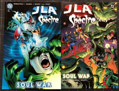 JLA Spectre (2003) #1 2 NM (9.4) Complete set