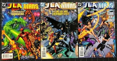 JLA Titans (1998) #1 2 3 VF/NM (9.0) Complete set