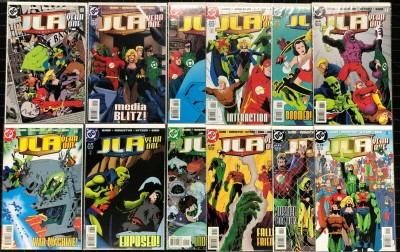 JLA Year One (1998) #1-12 VF/NM (9.0) complete set Justice League Mark Waid