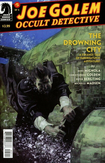 Joe Golem: Occult Detective--The Drowning City (2018) #5 of 5 VF/NM Mignola