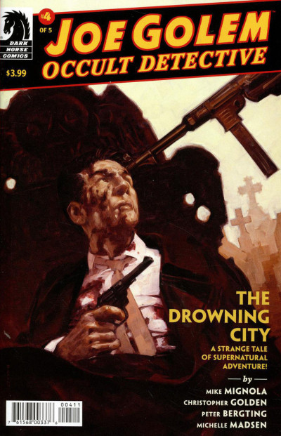 Joe Golem: Occult Detective--The Drowning City (2018) #4 of 5 VF/NM Mignola