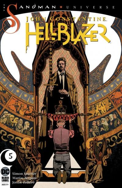 John Constantine Hellblazer (2018) #5 NM (9.4) Sandman Universe DC Black label