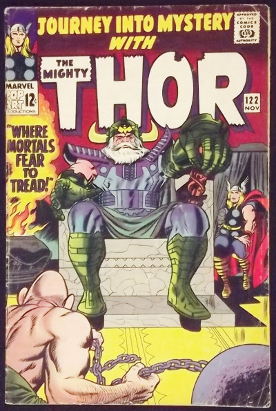 JOURNEY INTO MYSTERY #122 VG THOR