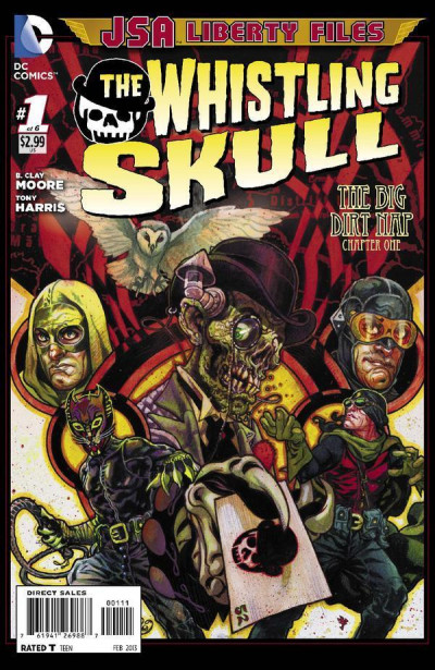 JSA LIBERTY FILES: THE WHISTLING SKULL #1 OF 6 NM