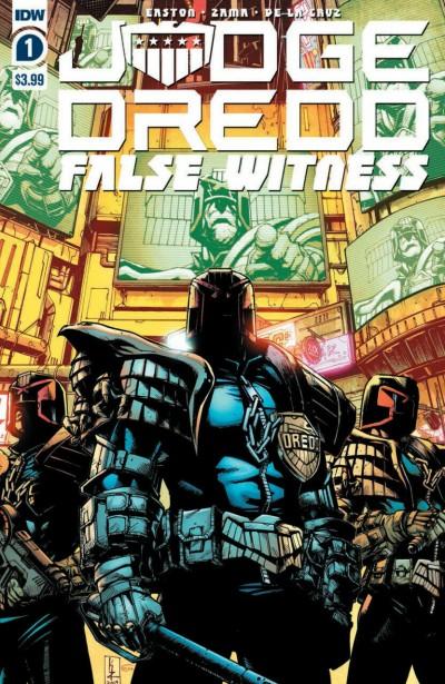 Judge Dredd: False Witness (2020) #1 VF Kei Zama Cover A IDW