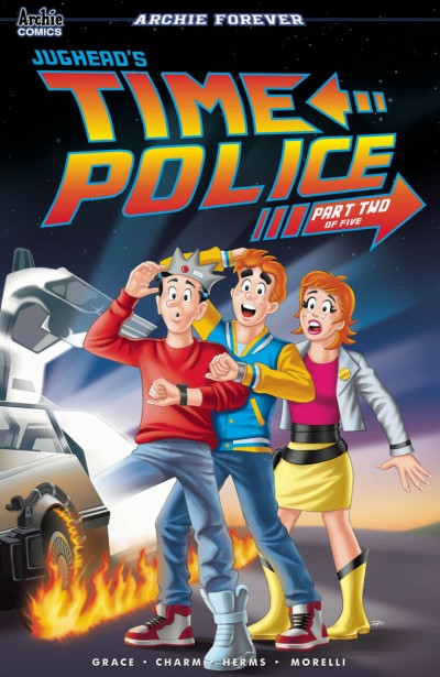 Jughead's Time Police (2019) #2 VF/NM Tito Pena Back to the Future Variant Cover